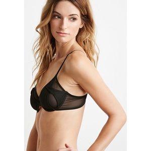 fc7ec6c19a9 Forever 21 Intimates   Sleepwear - NWOT- black mesh bra
